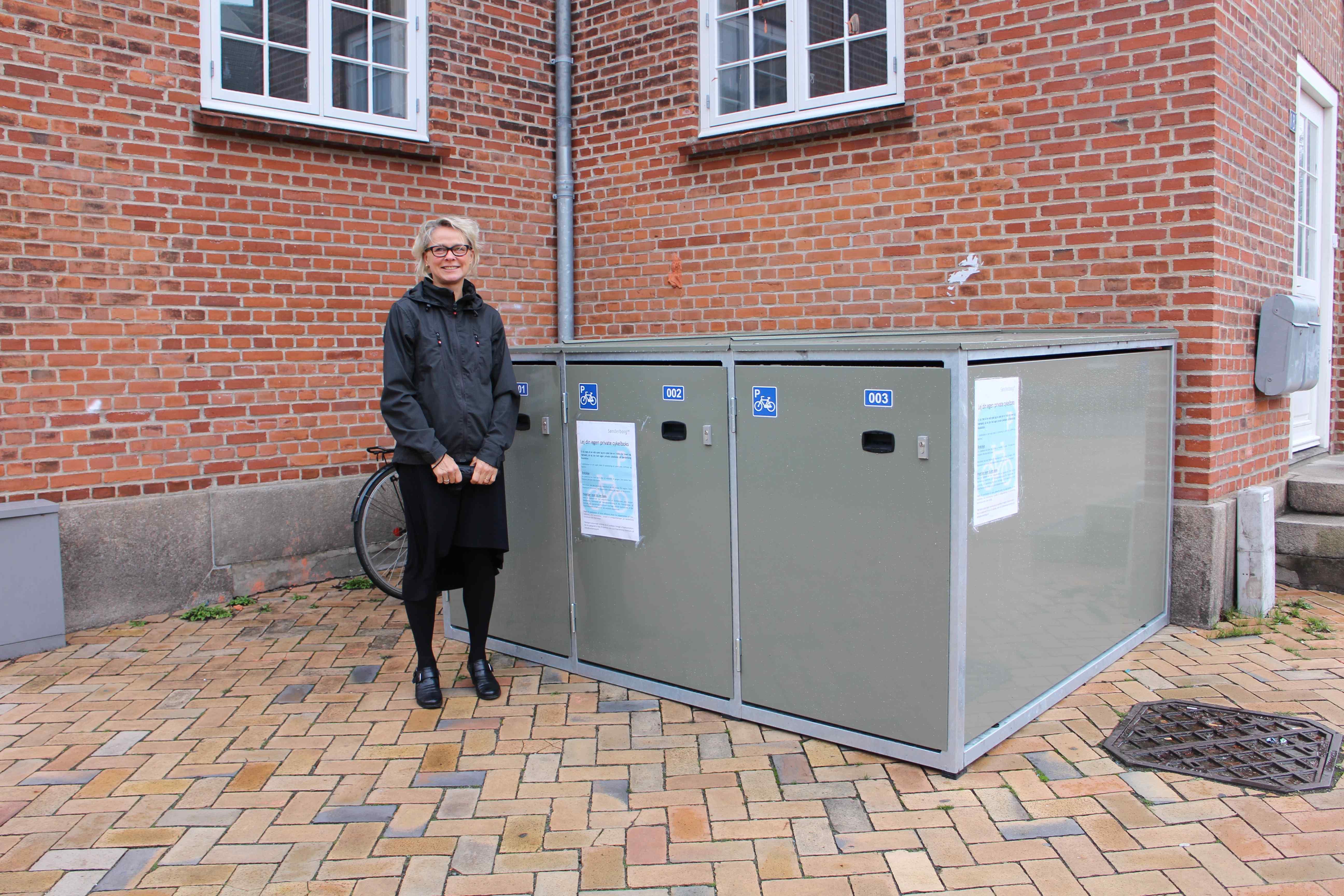 Lej en billig cykelboks på Sønderborg busstation